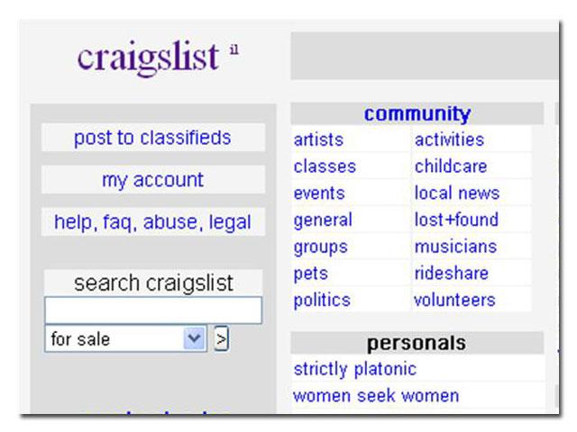 Craigslist jerusalem personals
