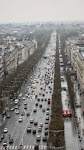 A comprehensive view of the Champs Elysees