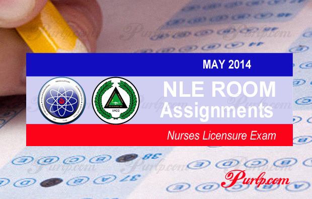 MAY 2014 NLE Room Assignment