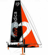 Volvo 65 one-design for Volvo Ocean Race