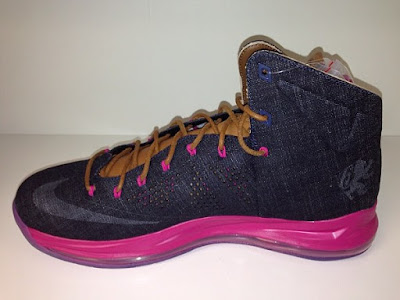 nike lebron 10 sportswear pe denim 2 01 Another Look at the Nike LeBron X NSW Denim / Pink PE