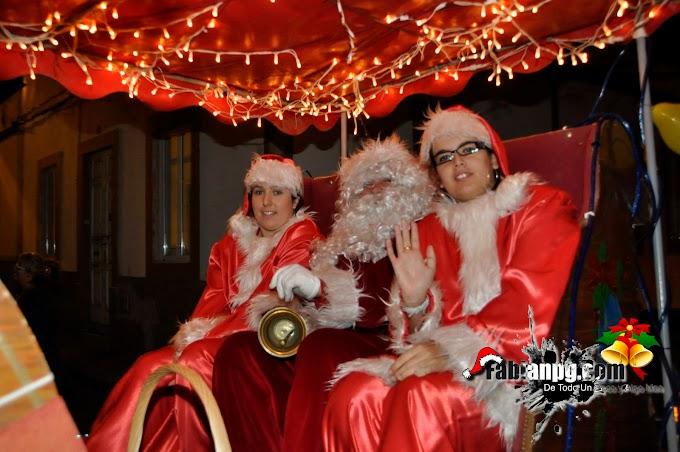 Papá Noel Visita Bañaderos