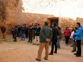 Imagen de la visita guiada al castillo