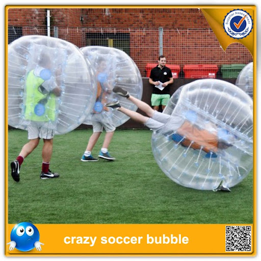 !! Inflatable human bumper bubble soccer ball toys, loo
