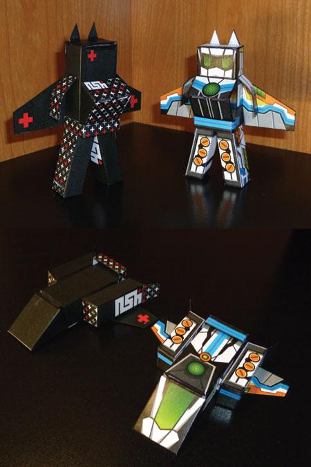 Jetplus Paper Toy