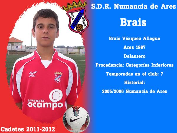 ADR Numancia de Ares. Cadetes 2011-2012. BRAIS.