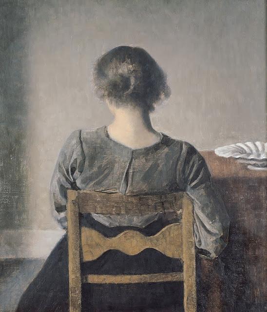 Vilhelm Hammershoi - Rest