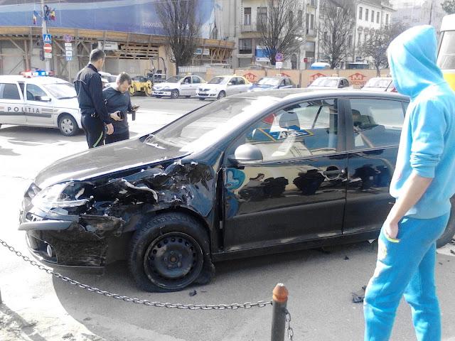 Accident în centrul Oradei #4