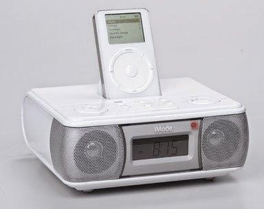 iMode Clock Radio with iPod Docking Station