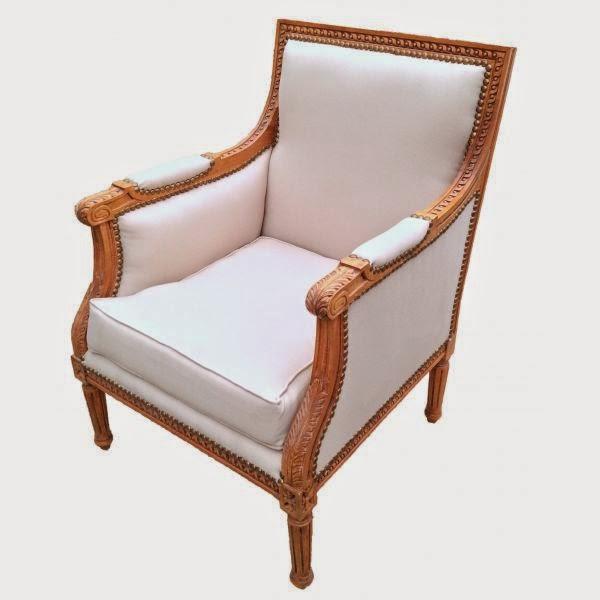 Le c l bre fauteuil berg re revient en force - Fauteuil style bergere ...