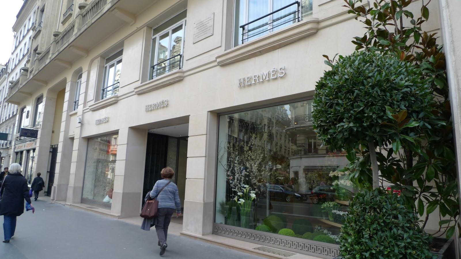 Ms ellaneous in the heart of paris the herm s boutique in saint germain des pr s - Hermes rue de sevres ...