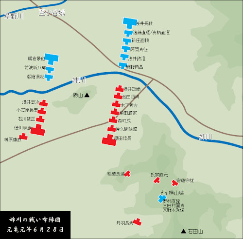 The Battle of Anegawa