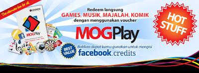 daftar harga Voucher MOGPLAY Game Online