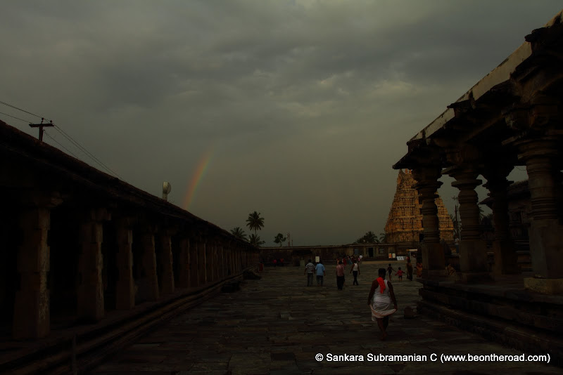 Rainbow from the Channakeshava Temple