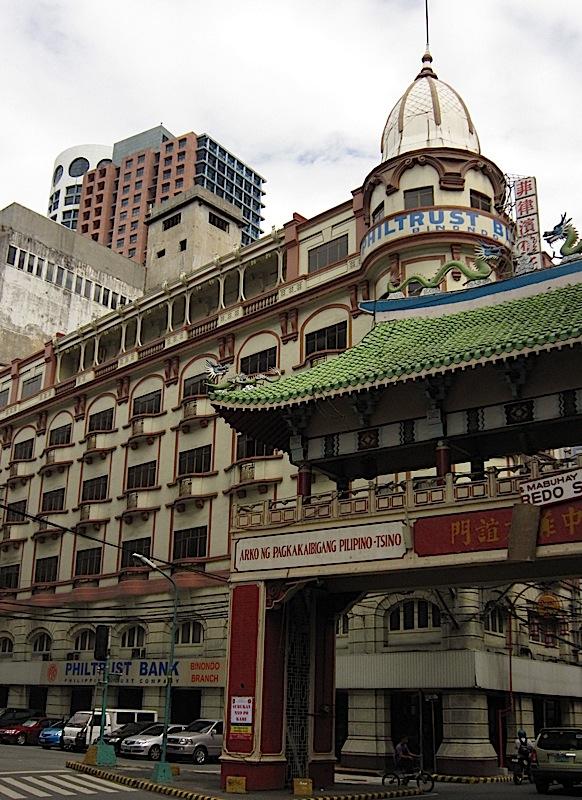 Uy-Chaco Building in Binondo, Manila