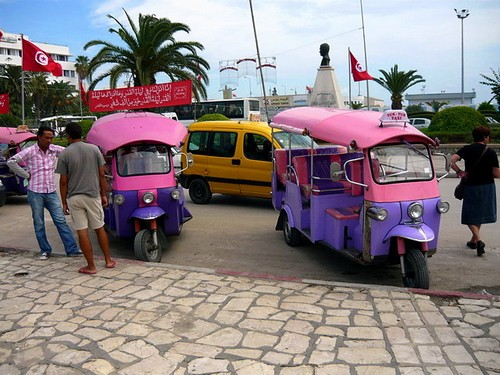 Тук-тук в Тунисе