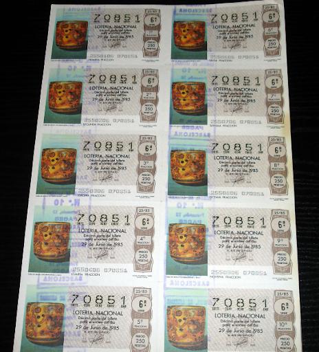 Loteria Nacional-vasija arcilla