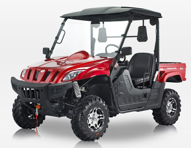 500cc 4x4 ATX Hyosung Suzuki powered Farm Utility UTV
