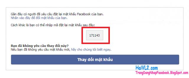 xác minh email đăng ký facebook