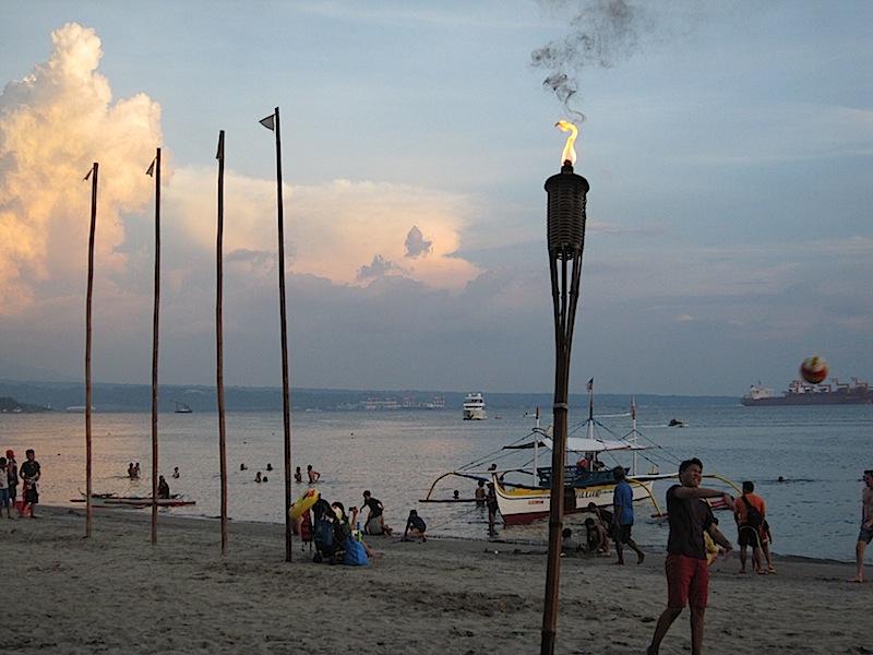 Subic Bay beach scene