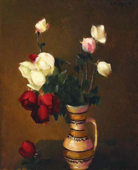 Leon Biju - Canceu cu trandafiri.