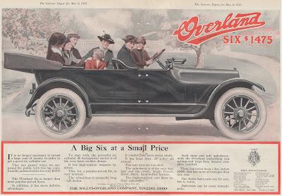 1915 Overland Six