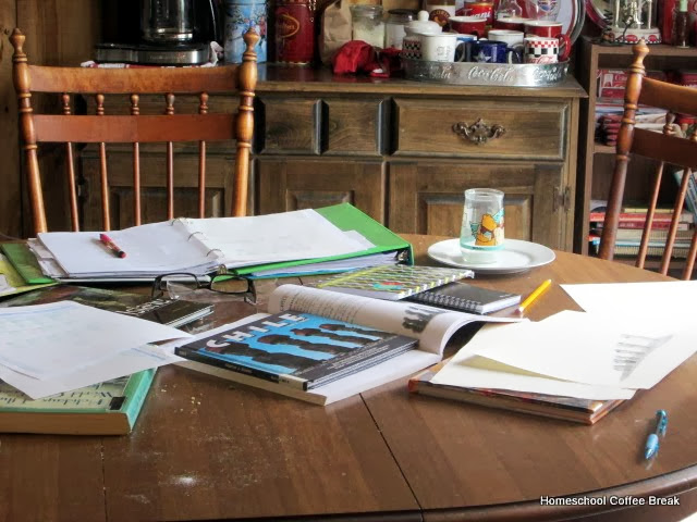 5 Ordinary Homeschool Days - Wednesday - Grab a coffee and join me as I share a little about scheduling and keeping track in our homeschool on Homeschool Coffee Break @ kympossibleblog.blogspot.com