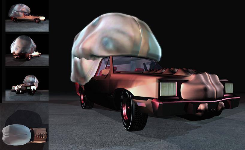 Колата мозък - 3д модел
