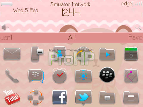 Bear Theme for BlackBerry - Preview 2