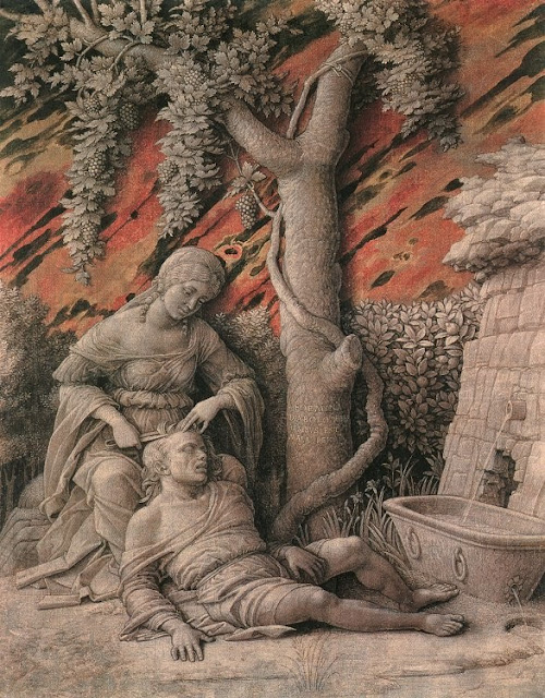 Andrea Mantegna - Samson and Delilah