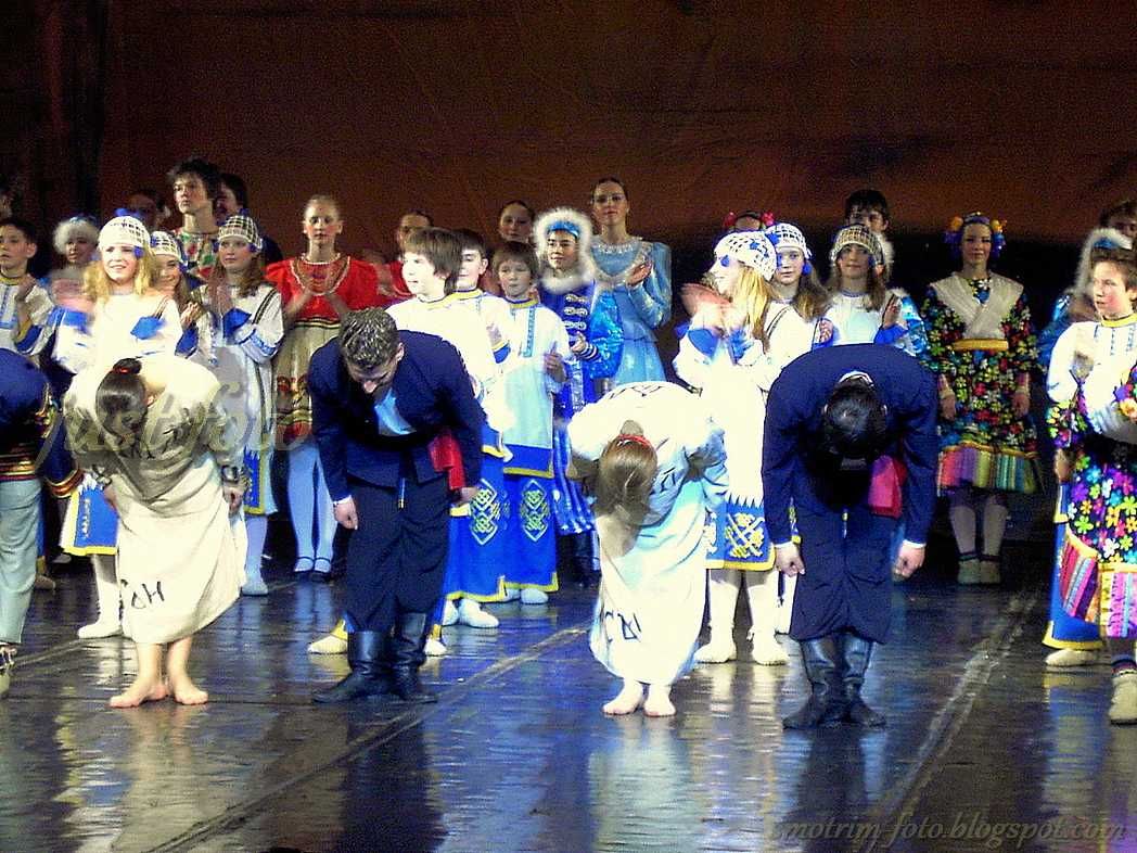 Россияночка - отчетный концерт фото
