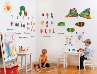The Very Hungry Caterpillar wall stickers on Zulily