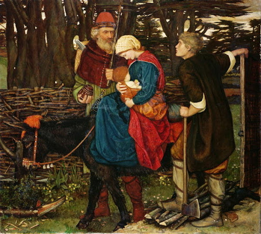 John Roddam Spencer Stanhope - The Holy Family