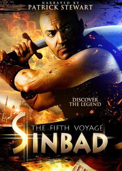 Poster Of English Movie Sinbad: The Fifth Voyage (2014) Free Download Full New Hollywood Movie Watch Online At Alldownloads4u.Com