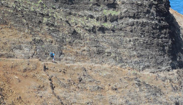 Kalalau Trail Kauai Hawaii (15 Scariest Hikes in the World).