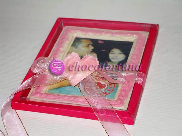Cokelat Frame Foto