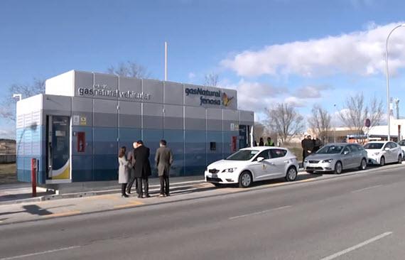 Inaugurada la Estación de Servicio de Gas Natural Comprimido (GNC) de Vicalvaro