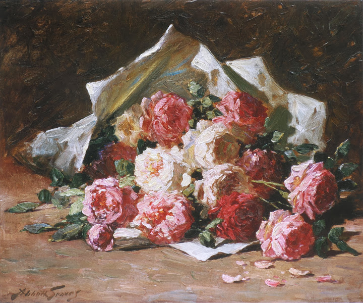 Abbott Fuller Graves - Bouquet of roses