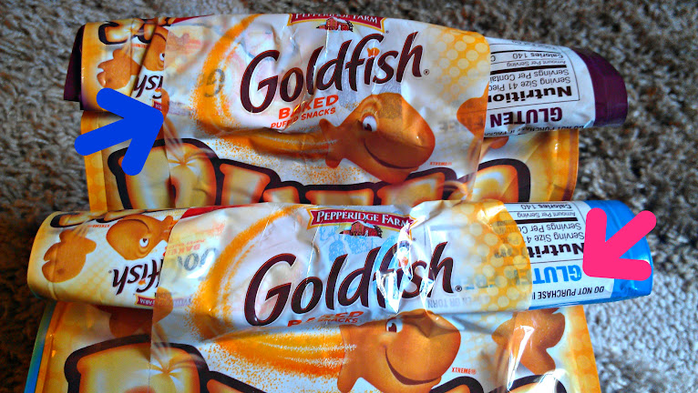 Goldfish Puffs are Gluten-Free and Packaged in Resealable Bags #makeitgopuff