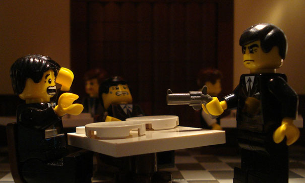 15 Famous Movie Scenes Recreated in Lego 6