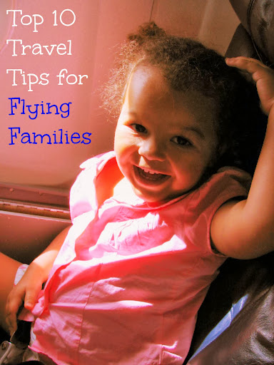 Top 10 travel tips for flying families