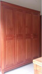 Tủ quần áo gỗ MS-184