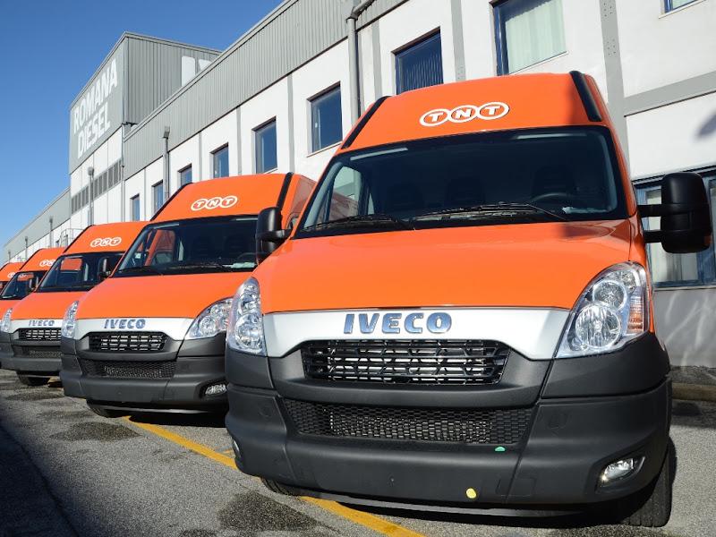 115 Iveco Daily CNG dla TNT Express we Włoszech