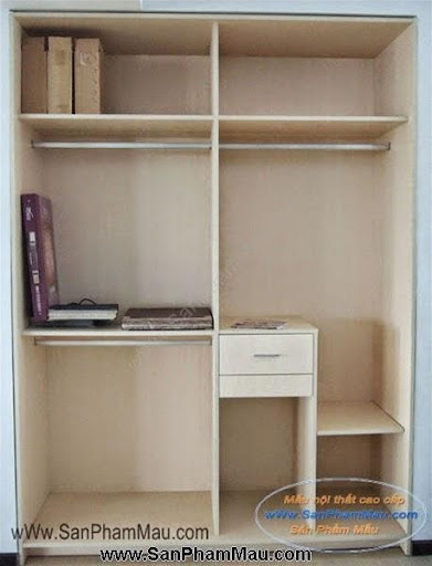 Các mẫu tủ quần áo bằng gỗ công nghiệp-5