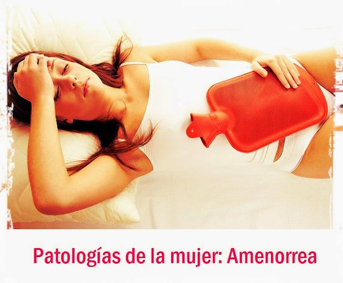 Patologías de la mujer: Amenorrea