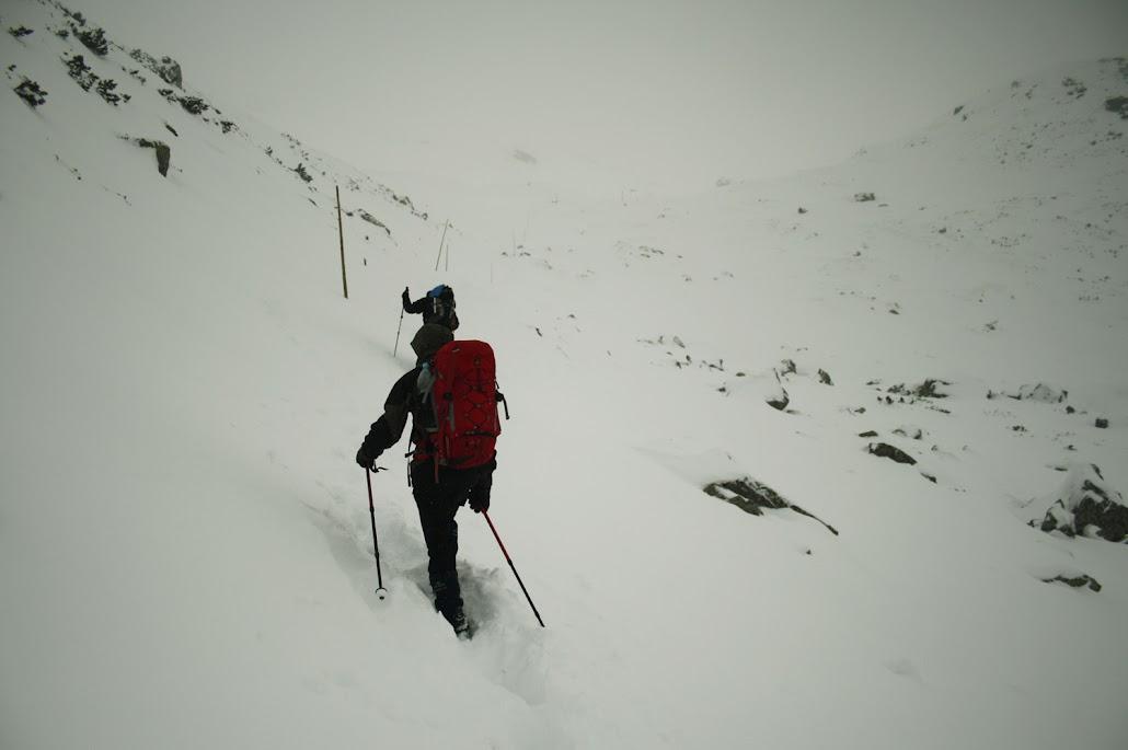 Podejście na Żarską Przełęcz