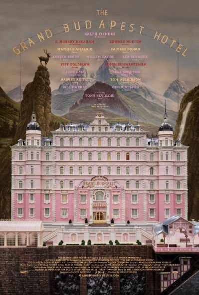 Poster Of English Movie The Grand Budapest Hotel (2014) Free Download Full New Hollywood Movie Watch Online At Alldownloads4u.Com