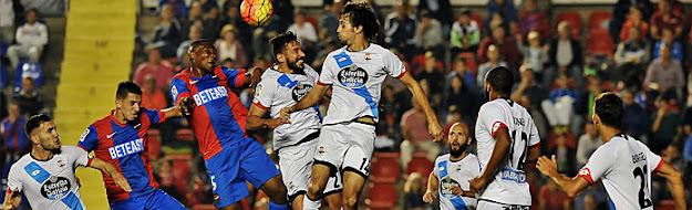Levante UD vs Deportivo de la Coruña 1-1