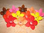 "Flowers. Instructions in ""Kusudama Ball Origami"" by Makoto Yamaguchi."