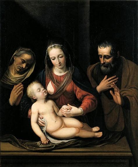 Hans Rottenhammer - Il matrimonio mistico di Santa Caterina